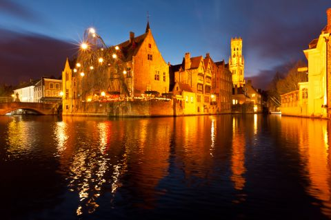 Brugge by night